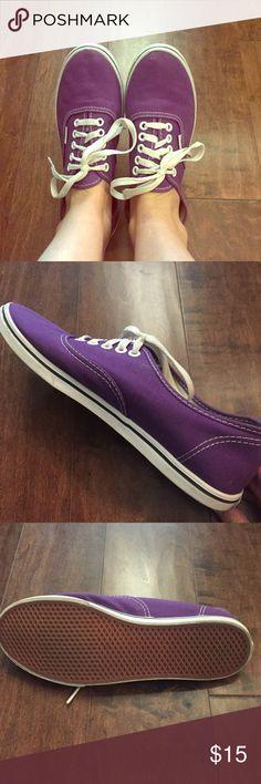 Vans sneakers Purple vans Vans Shoes Sneakers