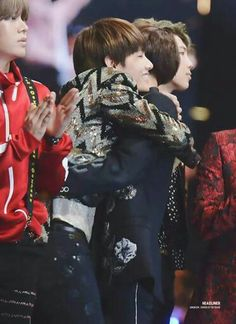 Tae and Jeongguk