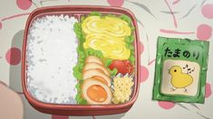 Find images and videos about cute, food and anime on We Heart It - the app to get lost in what you love. Anime Bento, Real Food Recipes, Yummy Food, Chibi Food, Bento Recipes, Kawaii, Food Drawing, Aesthetic Food, Aesthetic Anime