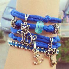 Nylon bracelet #silver #nylon #summer2013 Diy Clothing, Beaded Bracelets, Silver, Handmade, Wedding, Shoes, Jewelry, Fashion, Valentines Day Weddings