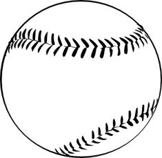 Baseball (b And W) Clip Art Baseball Videos, Sports Baseball, Baseball Mom, Baseball Party, Baseball Quilt, Baseball Signs, Baseball Birthday, Baseball Field, Baseball Cookies