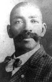 Bass Reeves - Western Lawman. Born as a slave, after the Civil War he went west to engage in farming. In 1875 he began a new career, receiving his commission as a U.S. Deputy Marshal, under the direction of Judge Isaac C. Parker in Ft. Smith. He was the first African American to receive a commission as a U.S. Deputy Marshal west of the Mississippi. He acquired a reputation as one of the best deputy marshals to ever work out of the Fort Smith Federal Court.