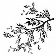 vector, watercolor, tree, jungle, plants, leaf, leave, forest, nature, garden, natural, colorful, colored, stylish, multipurpose, editable, branch, branches, flowers, floral, retro, spring, colored leavesbranches vector,collection vector Black And White Flowers, Black Leaves, Black N White, White Art, Branch Vector, Paisley Art, Egyptian Art, Border Design, Geometric Art