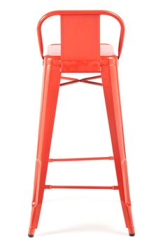 $145 Low Back Stool Red / Industry West