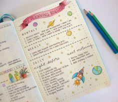 Bullet Journal - Planning routine