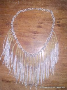 The Mora Smoothie.... with green                       Diy fringe necklace