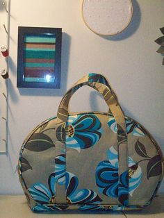 Amy Butler Sophia Bag made with Grandiflora fabric