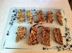 Gluten free granola bars Recipe by MATTOXEM via @SparkPeople