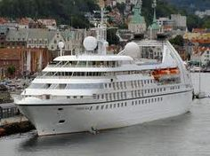 Seabourn Cruise Line- Seabourn Pride, 9,961 GT, Capacity of 208 passengers
