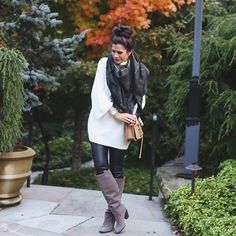 Enjoying a chilly night out here in the Highlands wearing this cozy outfit! (Scarf is @shopbe... @liketoknow.it www.liketk.it/uqSU #liketkit