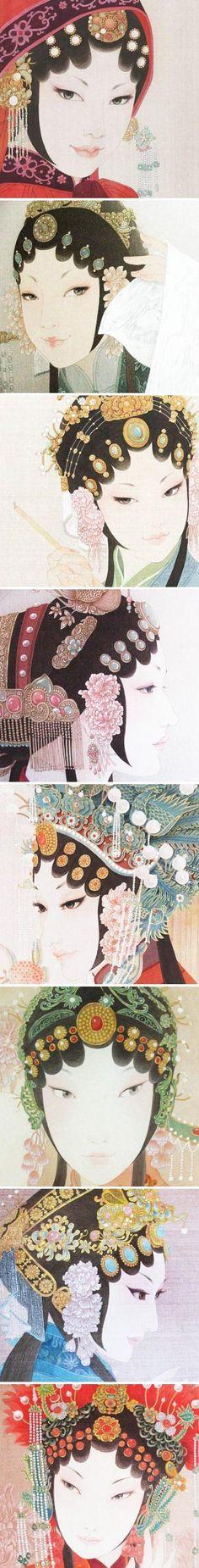 周雪京剧美...来自减墨如烟染霓裳的图片分享-堆糖