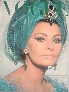 Sophia Loren vintage VOGUE cover