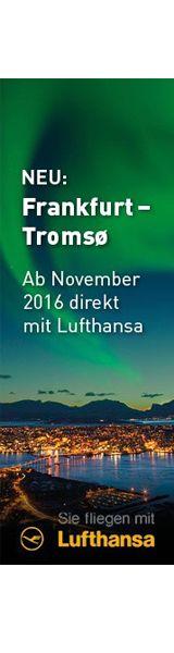 Mit Lufthansa direkt nach Nordnorwegen