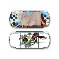 Ice Age PSP 3000 skin for the PSP 3000 console. Choose your favorite design from a huge range of PSP 3000 skins collection for PSP 3000 console. Decal, Sticker, Console Styling, Ice Age, Psp, Games To Play, Personal Style, Decals