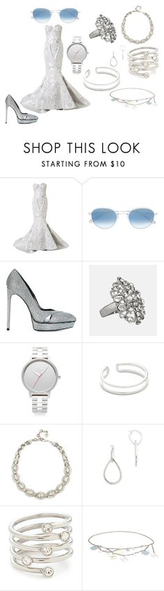 """There is beauty in simplicity"" by emmamegan-5678 ❤ liked on Polyvore featuring Mikael D, Garrett Leight, Yves Saint Laurent, Avenue, Nixon, Maya Magal, Ben-Amun, Elizabeth and James, Michael Kors and Chanel"