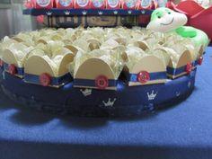 Decoração da festa com o tema Turma da Mônica em O Pequeno Príncipe