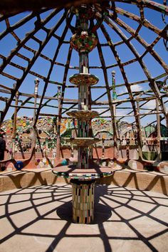 Watts Towers is a must see while in LA - it's amazing that one man had such a complex and artistic vision!   http://www.wattstowers.us/