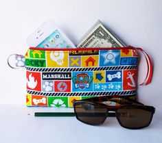 Handmade Zipper Purse Pencil iPhone Case Wallet Paw Patrol Lined Padded Gift  #handmade  #zipperpouch #wallet #zipperpurse #makeupbag #pencilcase #phonecase #gift #pawpatrol