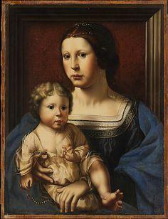 Virgin and Child Copy after Jan Gossart (called Mabuse) (Netherlandish, ca. 1522)