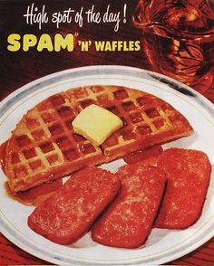 Spam 'n' Waffles