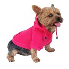 Dog Pullover Hoodie - Hot Pink - Tip Top Accessory Shop