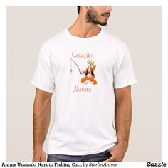 Anime Uzumaki Naruto Fishing On A Hot Summer Day T-Shirt