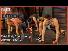 (145) Total Body Conditioning Workout | Level 2- BeFit in 30 Extreme - YouTube