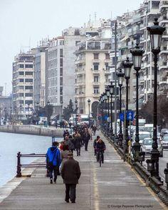 686 vind-ik-leuks, 58 reacties - George Papanas (@georgepapanas) op Instagram: '#thessaloniki #skg #amazing #photooftheday #greecestagram #great_street_photos #wu_greece…' Thessaloniki, Nymph, Macedonia Greece, Visit Greece, Places To Visit, Street View, Around The Worlds, Landscape, Country