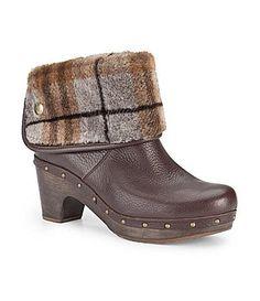 UGG Australia Cora Lynn Plaid Boots Slipper Sandals ed70f868f45