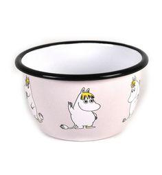 Moomin Snork Maiden Muurla Enamel Bowl: Amazon.es: Hogar