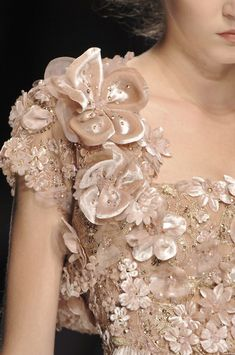 Elie Saab at Couture Fall 2008 (Details)