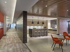 FS Investments Offices - by Francis Cauffman with Fury Design, featuring the Emeco STOL in Hand-Brushed Recycled Aluminum