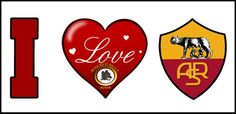 As Roma Nel Cuore I Love AS Roma! Daje Roma Daje!