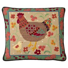 Jolly Red > Tapestry Cushion Kits > Old English Hen