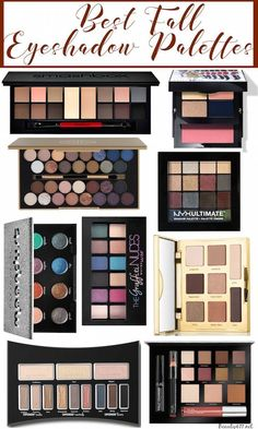 Best Eyeshadow Palettes for Fall!