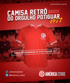 Camisa Retrô do América - 1977