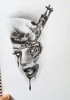 tattoomahine face 1