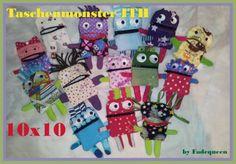 Jolou Monstertaschen Taschenmonster Monstermassig Cool Maschinenstickerei Sticken Stickdateien