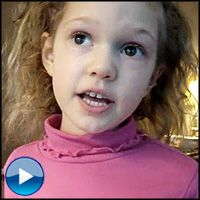 Sweet Angel Sings the Books of the Bible for Her Mommy - Worship Video
