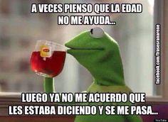 Memes de la rana #Edad