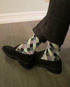 Paul Smith socks, Gucci shoes
