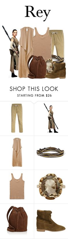 """Rey"" by megan-vanwinkle ❤ liked on Polyvore featuring Sans Souci, Chan Luu, Wood Wood, Jérôme Dreyfuss and Isabel Marant"