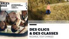 """Des Clics & des Classes thème """" Regarde tout change ! """" aux @rencontresarles 2015"""