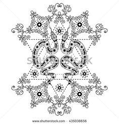 Image result for sacred geometry snake