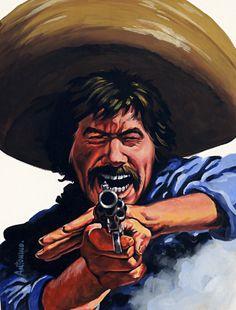 O pistoleiro mexicano