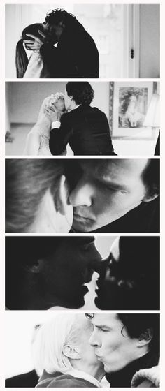 This has been a very kissy season for Sherlock. :)