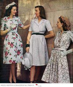 lata 40 moda - Szukaj w Google