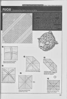 Mamut diseñado por Noboru Miyajima Origami And Kirigami, Origami Paper Art, Pez Fugu, Origami Diagrams, Diy And Crafts, Paper Crafts, Origami Animals, Origami Instructions, Miyajima