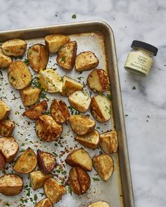 Recipe: 3-Ingredient Garlicky Red Potatoes — Thanksgiving Sides