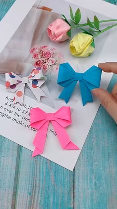 Previous Post DIY Bow-Knot Butterfly Tie – – You are in the right place about diy lamp Here we offer you the most beautiful pictures about the diy facile you are looking for. When you examine the DIY Bow-Knot Butterfly Tie – – part of the picture … Kids Crafts, Diy Crafts Hacks, Diy Crafts For Gifts, Diy Arts And Crafts, Creative Crafts, Diy Projects, Paper Crafts Origami, Diy Paper, Origami Bow